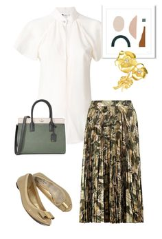 """bag"" by masayuki4499 ❤ liked on Polyvore featuring Lanvin, Haute Hippie, Kate Spade and Givenchy"