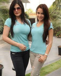 Zarine Khan With Shazahn Padamsee