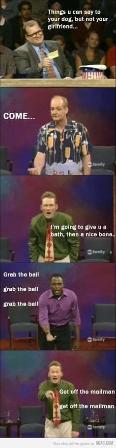 LOL Whose line is it, anyway?