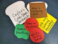 """Strategy Sandwiches: Use this idea with the book """"The Sandwich Swap"""".  Students can either write main idea and supporting details or make a Story Map using all of the sandwich pieces! ~CN"""
