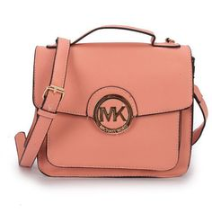 Michael Kors Big Logo Medium Pink Crossbody Bags