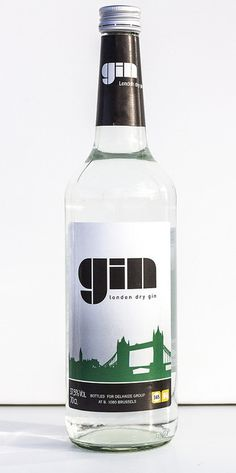 Delhaize London Dry Gin PD