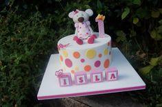 Mouse 1st Birthday Cake