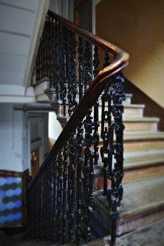 Stairwell of a lovely tenement building