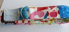 Multicolour patchwork belt - 34 inches long