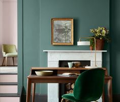 Pleat Paint | Green Paint | Little Greene
