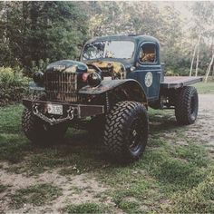 Dodge Power Wagon - by Dodge Trucks, Diesel Trucks, Custom Trucks, Cool Trucks, Pickup Trucks, Custom Cars, Lifted Trucks, Truck Drivers, Hot Rods