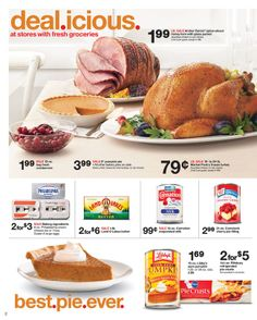 Target - Sale starts November 17, 2013 - November 23, 2013 November 23, Ham, Target, Beef, Fresh, Food, Meat, Essen, Hams