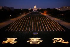 Vigília de velas lembra vítimas dos 15 anos de perseguição na China   #BrendonFallon, #ExtraçãoForçadaDeórgãos, #FalunGong, #Genocídio, #PartidoComunistaChinês, #Perseguição, #Tortura, #VigíliaDeVelas