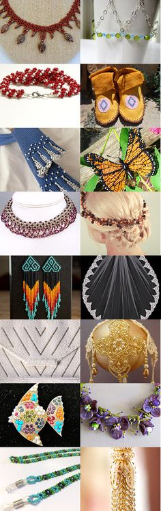 All Things Beaded by Laura Bauer on Etsy--Pinned with TreasuryPin.com #octoberfinds