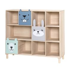 Animals Bookcase With Drawers Bloomingville - WOO .