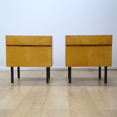 Buy Retro Pair Of 1960s Maple Bedside Cabinets From Mark Parrish Mid  Century Modern Furniture,