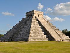 Chichen Itza Mayan Ruins in Progreso, Yucatan, Mexico