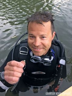 Scuba Diver Recovers Wedding Rings in Murky Minnesota Bay