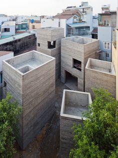 Masaaki Iwamoto, House for Trees (Ho Chi Minh City, 2014)