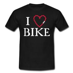 Für jede Bike Liebhaber, ein Herz in Kettengliedern.