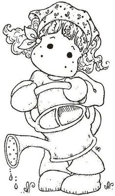 Little Easter 2013 - Tilda irrigation - Coloring Pages Colouring Pics, Coloring Book Pages, Coloring Pages For Kids, Pintura Magnolia, Copics, Drawing For Kids, Digital Stamps, Sketches, Drawings