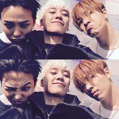 GD, Seungri, Taeyang