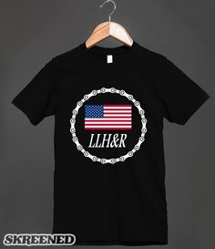 LLH&R - USA  Tee shirts $23.00 / Hoodies $40.99 Skreened.com/bikergear  http://bad-press.co.uk/support-your-local-small-press/bikergear-t-shirts/