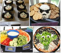 27 best star wars parties -- look at for food and games