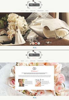 Wedding Most Popular website inspirations at your coffee break? Browse for more JavaScript Based #templates! // Regular price: $67 // Sources available: .HTML,  .PSD #Wedding #Most Popular #JavaScript Based