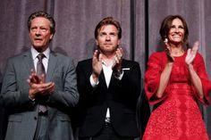 Chris Cooper, Ewan McGregor and Julia Roberts at Osage County #tiff13