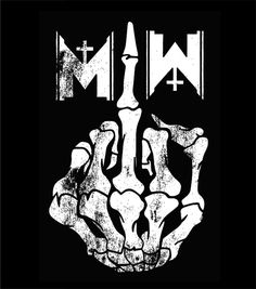 Motionless In White - Middle Finger Tank Top ($15.00)
