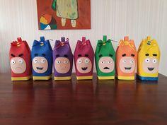 Bolsitos Oddbods Rainbow Birthday, 4th Birthday, Birthday Party Themes, Birthday Cake, 1 Year Olds, Jelly Beans, Preschool Crafts, Birthdays, Christmas