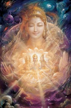 Divine Mother (from God Talks With Arjuna, copyright Self-Realization Fellowship)