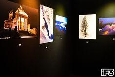 Expo Photo sous le chapiteau de l'iF3 Annecy.