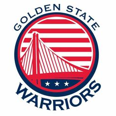 Golden State Warriors w/ American Flag