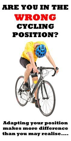 WHAT ARE 5 SIGNS YOU'RE IN THE WRONG CYCLING POSITION? http://thecyclingbug.co.uk/health-and-fitness/training-tips/b/weblog/archive/2015/03/06/5-signs-you-39-re-in-the-wrong-cycling-position.aspx?utm_source=Pinterest&utm_medium=Pinterest%20Post&utm_campai
