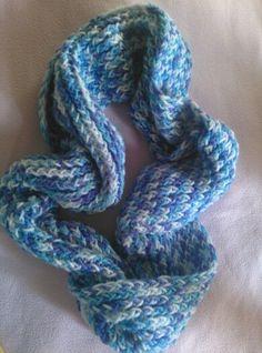 Bufanda de cuello redondo en telar