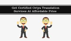 Get Certified Oriya Translation Services At Affordable Price