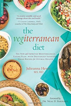 The Vegiterranean Diet: The New and Improved Mediterranean Eating Plan by Julieanna Hever As many know, the traditional Mediterranean diet has been the gold standard for decades, and with good reason: it has been linked with lowered risks of cardiovascular disease, cancer, diabetes, and Alzheimer's. Now Julieanna takes the Med to a whole new level! Julieanna http://www.pinterest.com/plantdietitian is member of Vegan Community Board http://www.pinterest.com/heidrunkarin/vegan-community