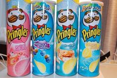 pringles flavors that i havent ever heard of pringles