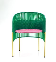 ames Launches CARIBE, a Colorful Outdoor Collection Made of Recycled Plastic - Design Milk