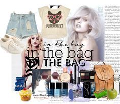 """""""in my bag"""" by pureheartedromance ❤ liked on Polyvore"""