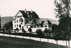 1907: Villa Silvana von Rudolf Matossi-Sulzer Wylandstr. 19, 1906 erbaut, 1979 abgebrochen
