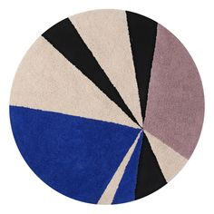 Discover the Lorena Canals Geometric Klein Round Washable Rug - at Amara Circle Rug, Geometric Circle, Geometric Rug, Fimo Kids, Lorena Canals Rugs, Kids Area Rugs, Childrens Rugs, Washable Rugs, Rugs
