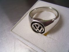 Gorgeous german Volkswagen logo ring