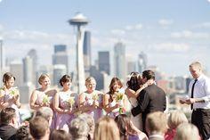 Seattle wedding at Kerry Park, #Seattle #Wedding
