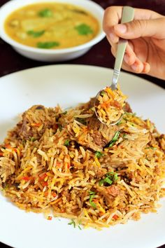 Indian Mutton Biryani Recipe