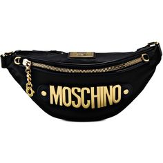 Moschino Bum Bag ( 280) ❤ liked on Polyvore featuring bags 3acf7c02f4cfa