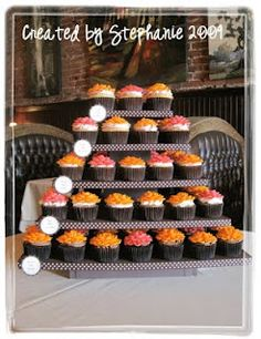 Sweet Creations by Stephanie: Cupcake Stand Tutorial (for Amanda and Taylor)