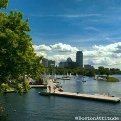Boston from the Banks of the Charles River #DirtyWater