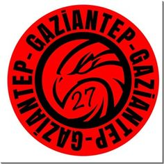 Gaziantep -Şahin Logo- Kendin Tasarla - HDF Magnet 8x8cm