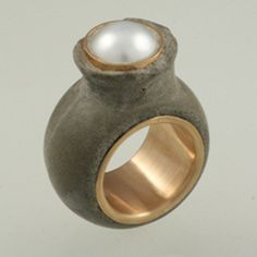concrete ring // Jim Cotter Gallery