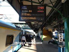 CRÓNICA FERROVIARIA: Línea Roca: A partir del 16 de Noviembre nuevos se...