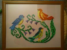 Birds hama beads (45 x 35 cm) by vanesuki2010 - pelillosuki